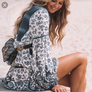 Elle Boho Mini dress